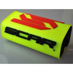 Mousse de guidon sans barre SCAR jaune fluo