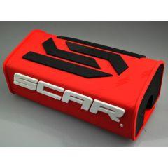 Mousse de guidon sans barre SCAR rouge