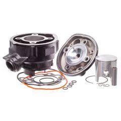 Kit cylindre 70cc MW noir Minarelli AM6