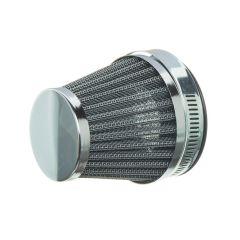Filtre à air NoEnd classic type KN diamètre 60mm chromé