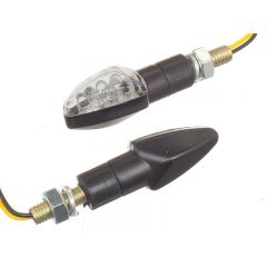 Clignotant OPM Drago 8 LEDs noir