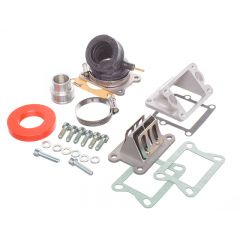 Kit admission Parmakit MBK Booster pour carburateur Dellorto 17.5 19 21mm