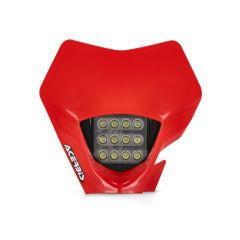Plaque phare LED Acerbis VSL GasGas rouge