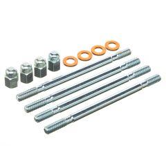 Goujon de cylindre M7x116mm Polini avec écrous borgne