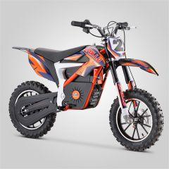 Pocket Bike cross Apollo Falcon 500W orange électrique version 2020 pour enfant