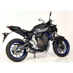 Pot d'échappement complet Spark Yamaha MT-07 carbone