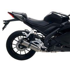 Pot d'échappement Malossi GP MHR Replica Yamaha YZF R 125 après 2021 homologué