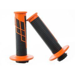 Poignée Pro Taper Clamp-on Noir Orange