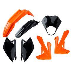 Kit carénage Rieju MRT orange / noir