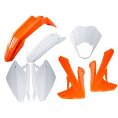 Kit carénage Rieju MRT orange / blanc