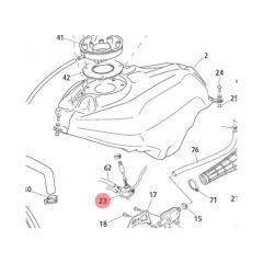 Robinet dépression avec jauge à essence Rieju RS3 Yamaha DT