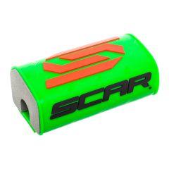 Mousse de guidon sans barre SCAR vert fluo