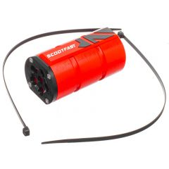 Récupérateur de fluide Scootfast 3D Derbi rouge