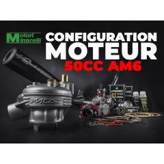 Configuration moteur 50cc Minarelli AM6