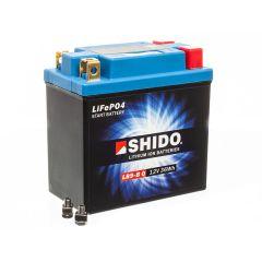 Batterie Lithium Shido LB9-B 12V 3Ah