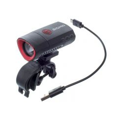 Feu avant LED rechargeable 300 Lumens