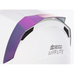 Spoiler de casque Icon Airflite iridium violet
