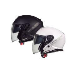 Casque Jet MT Helmets Thunder 3 double écran configurable