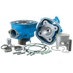 Kit cylindre 70cc Top performances Bleu Piaggio NRG