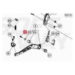 Vis de pédale de frein Beta RR après 2012