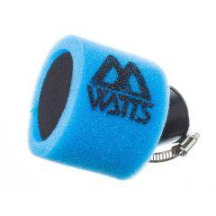 Filtre à air Watts Full Mousse bleu 35 mm