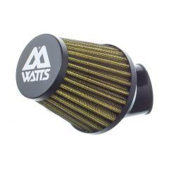 Filtre à air Watts type KN noir 28-35mm