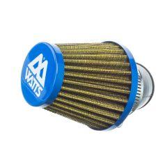 Filtre à air Watts type KN bleu 28-35mm
