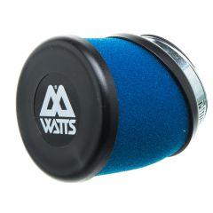 Filtre à air Watts bleu 49 mm