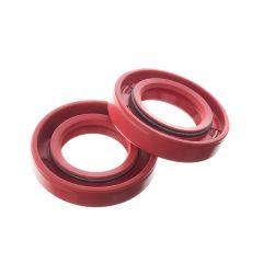 Joint spi de vilebrequin Watts Derbi Euro 2 / 3 / 4 rouge