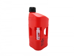 Bidon essence Polisport 20L avec doseur d'huile