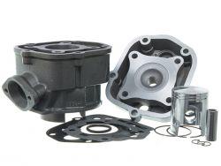 Kit cylindre 50cc Doppler Fonte Derbi Euro 3 et 4 piston Vertex