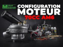 Configuration moteur 70cc Minarelli AM6