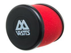 Filtre à air Watts rouge 35mm