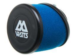 Filtre à air Watts bleu 35 mm