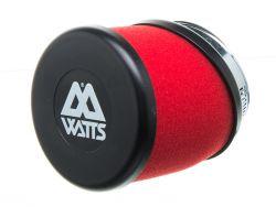 Filtre à air Watts rouge 49 mm