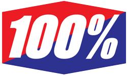 Logo de la marque 100%