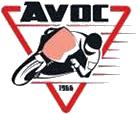 Logo de la marque AVOC pour optique et clignotants 2 roues.