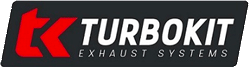Logo de la marque d'échappement moto et scooter Turbokit